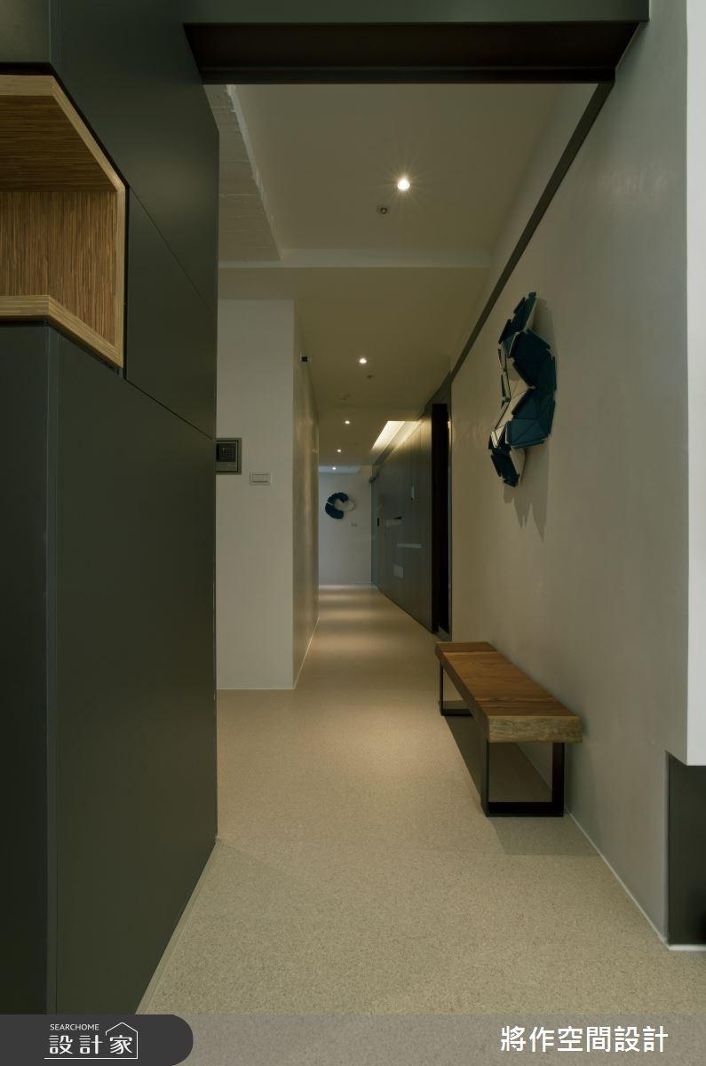70坪新成屋(5年以下)_現代風玄關案例圖片_將作空間設計工作室_將作_04之2
