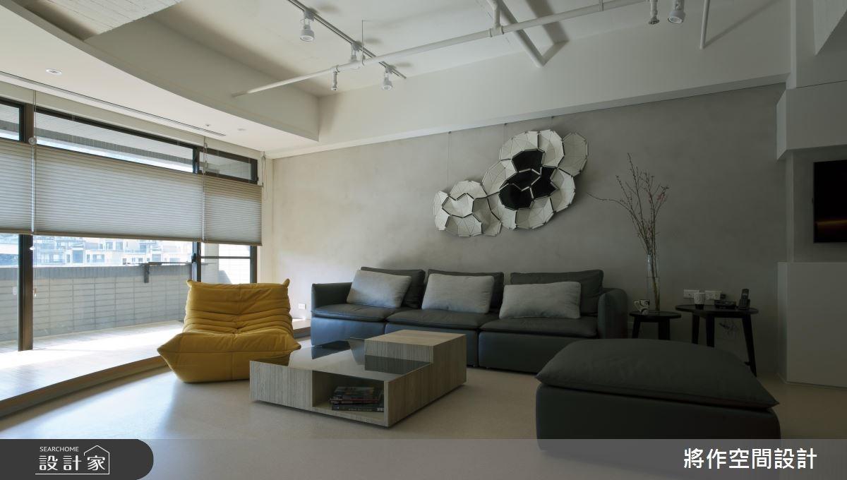 70坪新成屋(5年以下)_現代風客廳案例圖片_將作空間設計工作室_將作_04之4