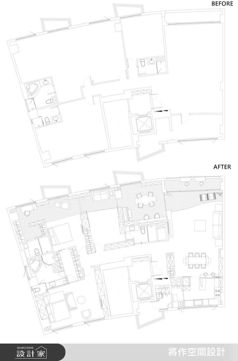 70坪新成屋(5年以下)_現代風案例圖片_將作空間設計工作室_將作_04之34