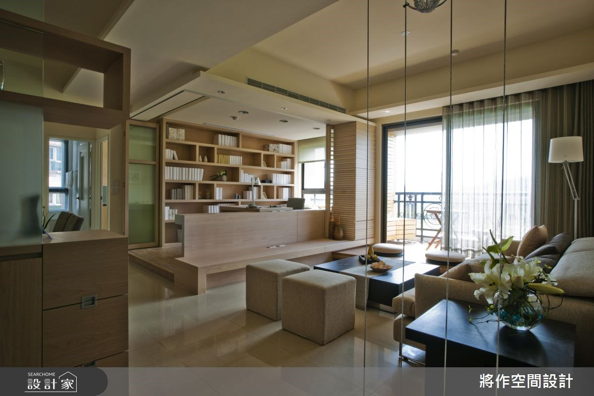 28坪_休閒風客廳案例圖片_將作空間設計工作室_將作_05之2