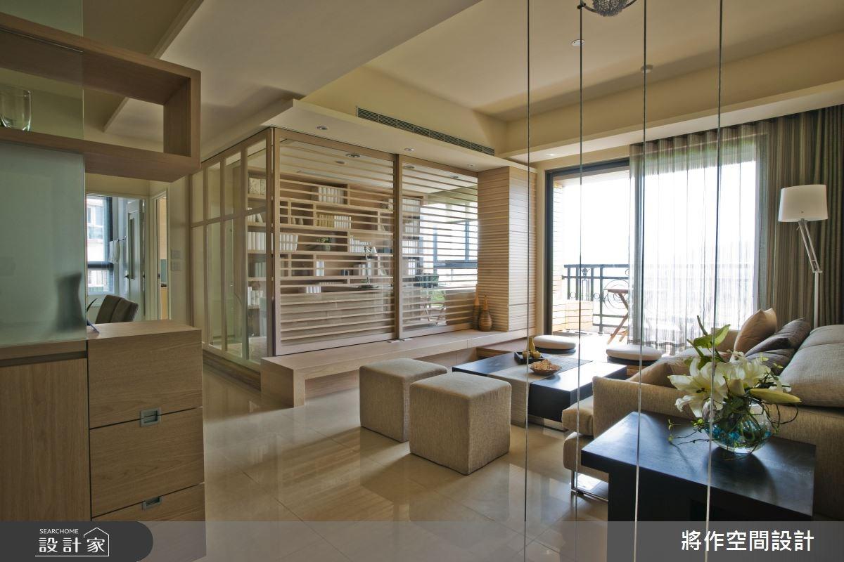 28坪_休閒風客廳案例圖片_將作空間設計工作室_將作_05之3