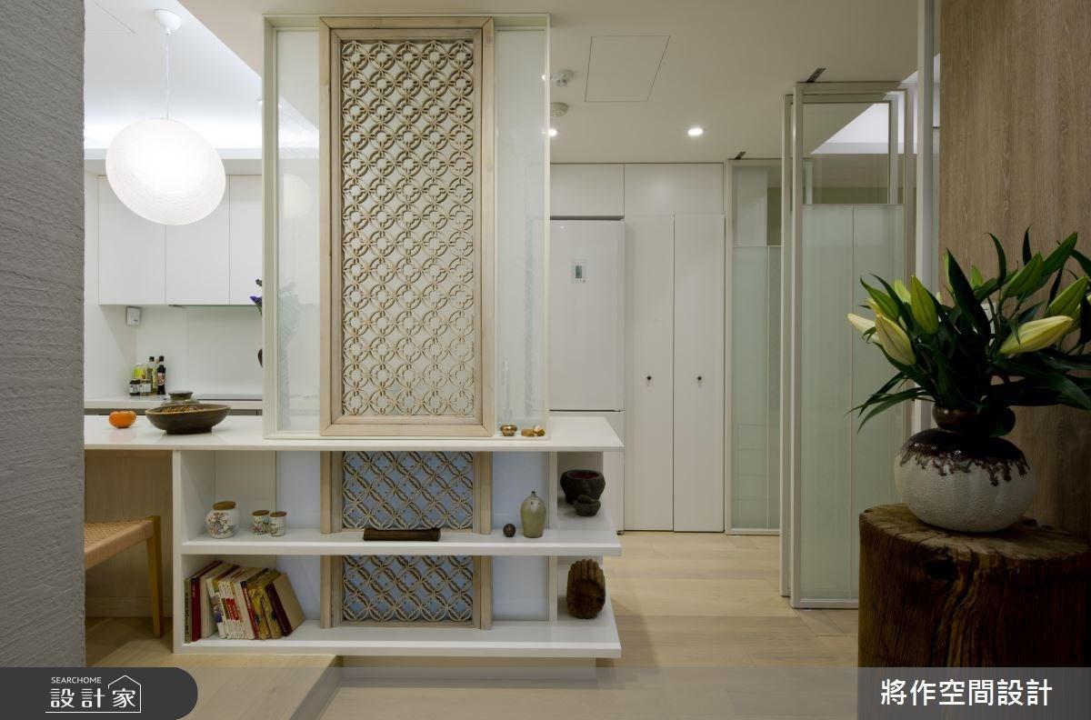 18坪新成屋(5年以下)_現代風玄關案例圖片_將作空間設計工作室_將作_06之2