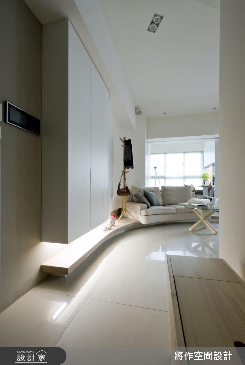 12坪新成屋(5年以下)_現代風客廳案例圖片_將作空間設計工作室_將作_08之1