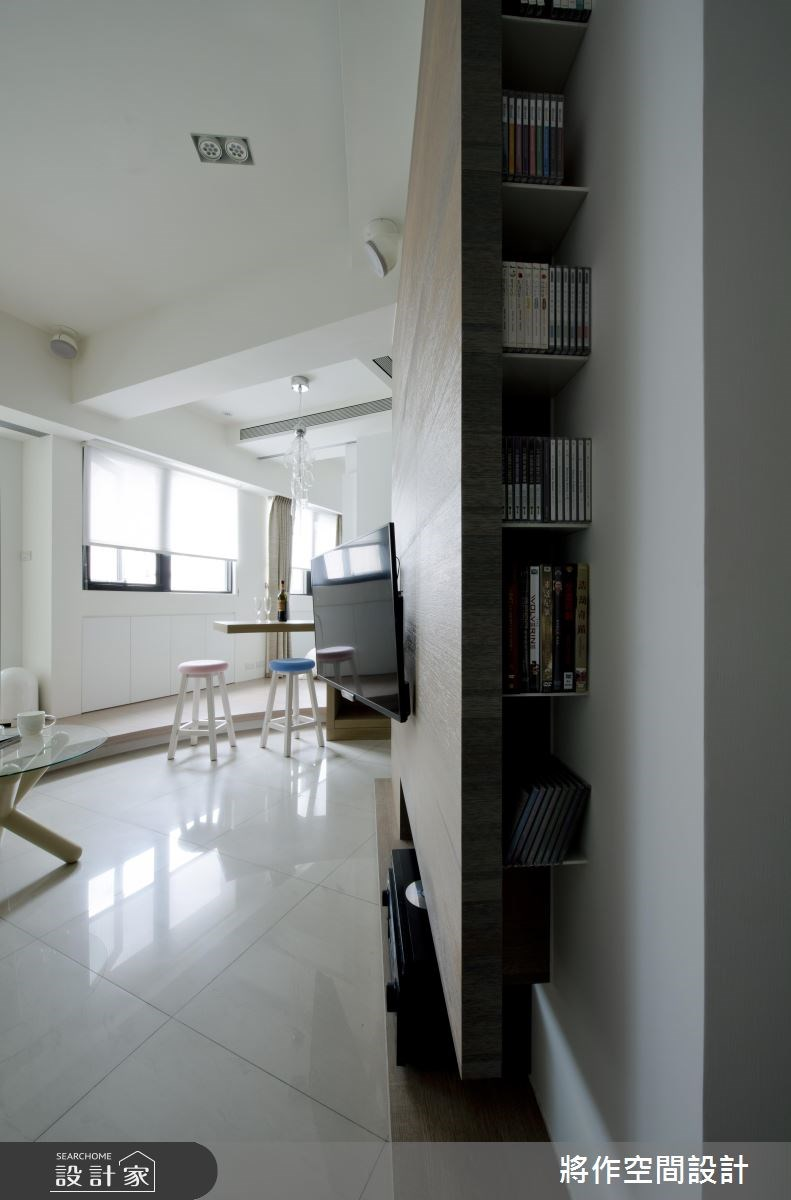 12坪新成屋(5年以下)_現代風客廳案例圖片_將作空間設計工作室_將作_08之3