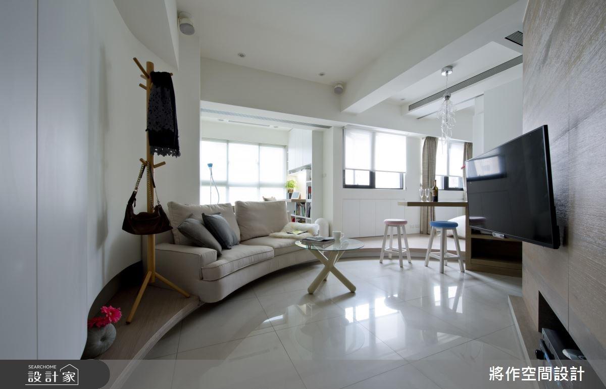 12坪新成屋(5年以下)_現代風客廳案例圖片_將作空間設計工作室_將作_08之4