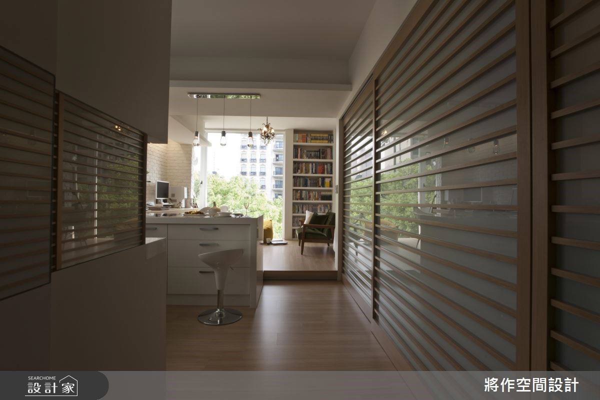 12坪老屋(16~30年)_混搭風玄關案例圖片_將作空間設計工作室_將作_09之2