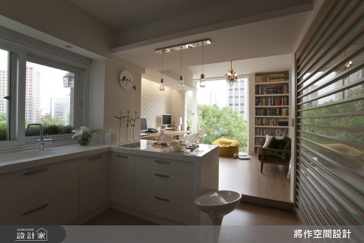 12坪老屋(16~30年)_混搭風廚房吧檯案例圖片_將作空間設計工作室_將作_09之3