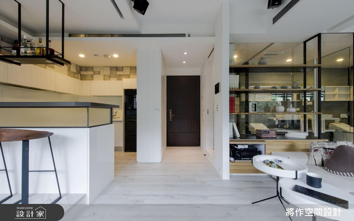 13坪新成屋(5年以下)_休閒風客廳案例圖片_將作空間設計工作室_將作_11之1