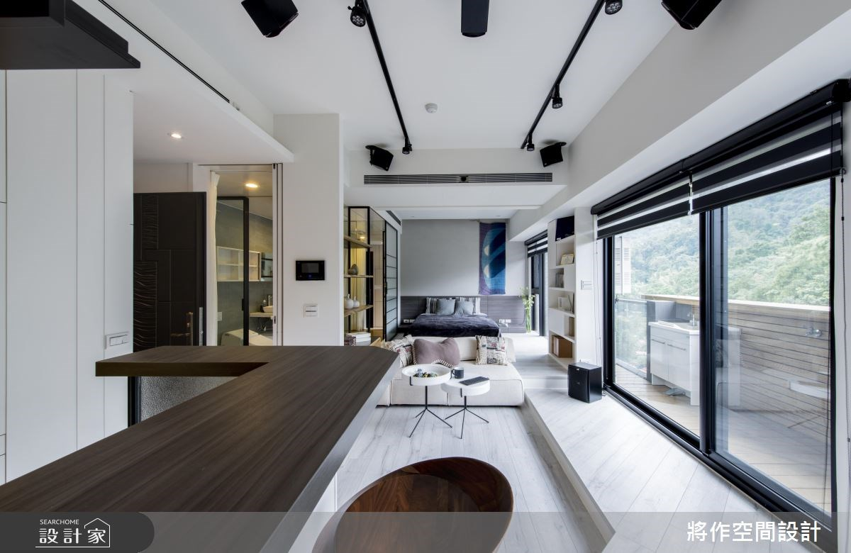 13坪新成屋(5年以下)_休閒風客廳吧檯案例圖片_將作空間設計工作室_將作_11之4
