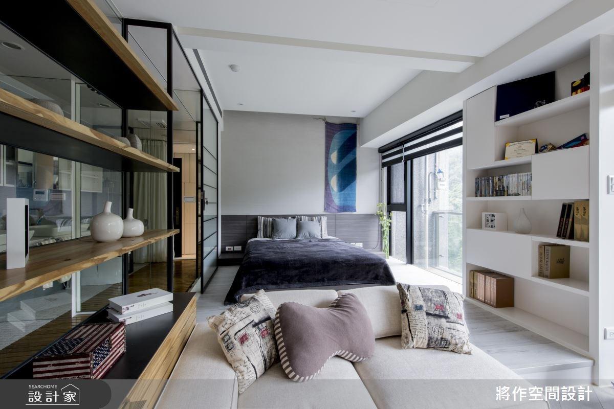 13坪新成屋(5年以下)_休閒風客廳案例圖片_將作空間設計工作室_將作_11之10