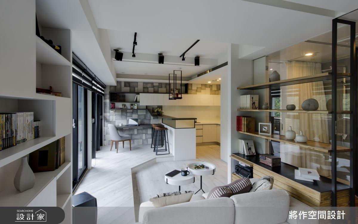 13坪新成屋(5年以下)_休閒風客廳吧檯案例圖片_將作空間設計工作室_將作_11之11