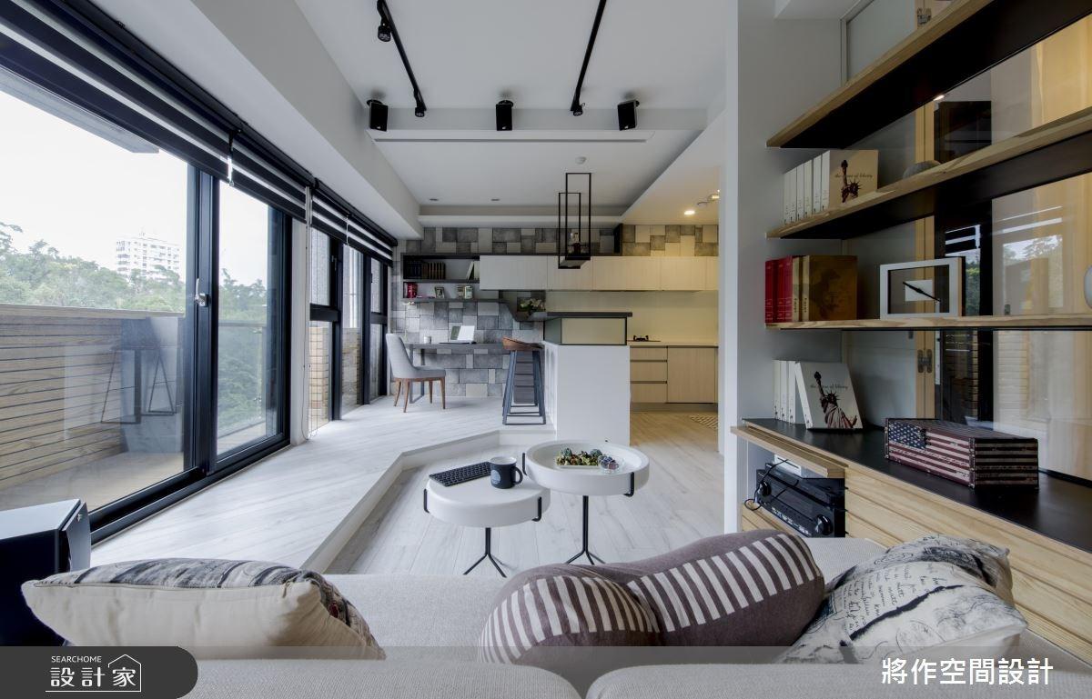 13坪新成屋(5年以下)_休閒風客廳案例圖片_將作空間設計工作室_將作_11之12