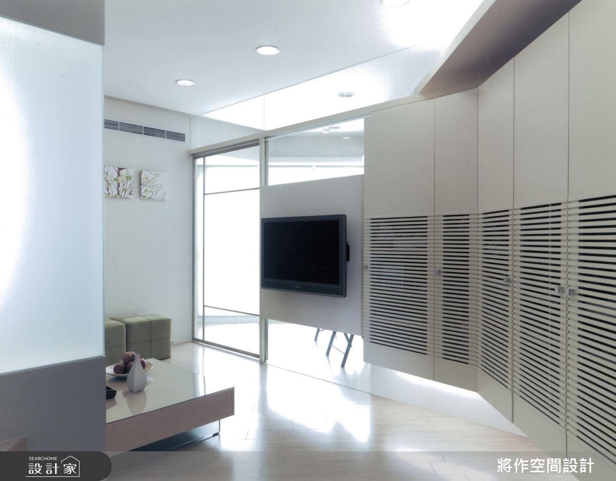 22坪新成屋(5年以下)_簡約風客廳案例圖片_將作空間設計工作室_將作_12之1