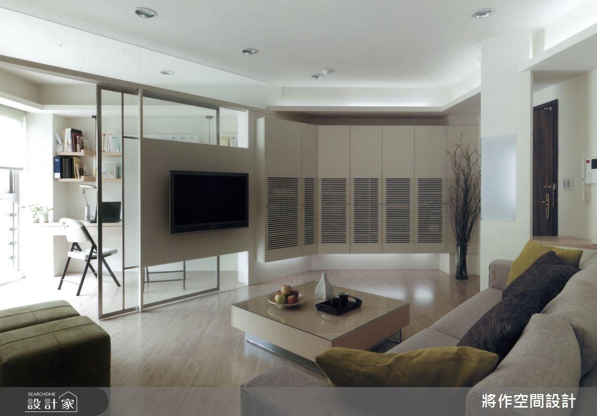 22坪新成屋(5年以下)_簡約風客廳案例圖片_將作空間設計工作室_將作_12之4