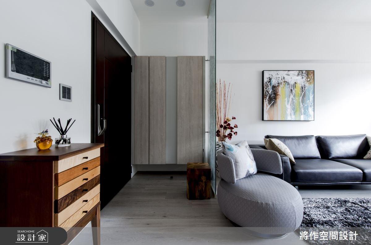 50坪新成屋(5年以下)_現代風客廳案例圖片_將作空間設計工作室_將作_13之1