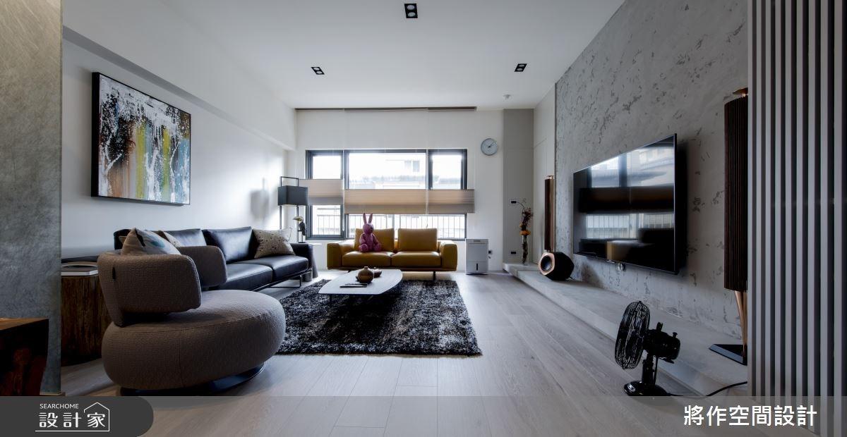 50坪新成屋(5年以下)_現代風客廳案例圖片_將作空間設計工作室_將作_13之2