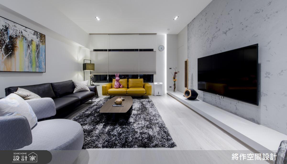 50坪新成屋(5年以下)_現代風客廳案例圖片_將作空間設計工作室_將作_13之4