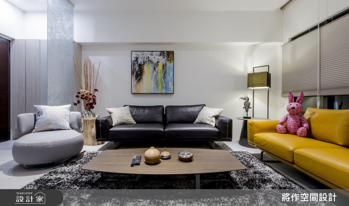 50坪新成屋(5年以下)_現代風客廳案例圖片_將作空間設計工作室_將作_13之5