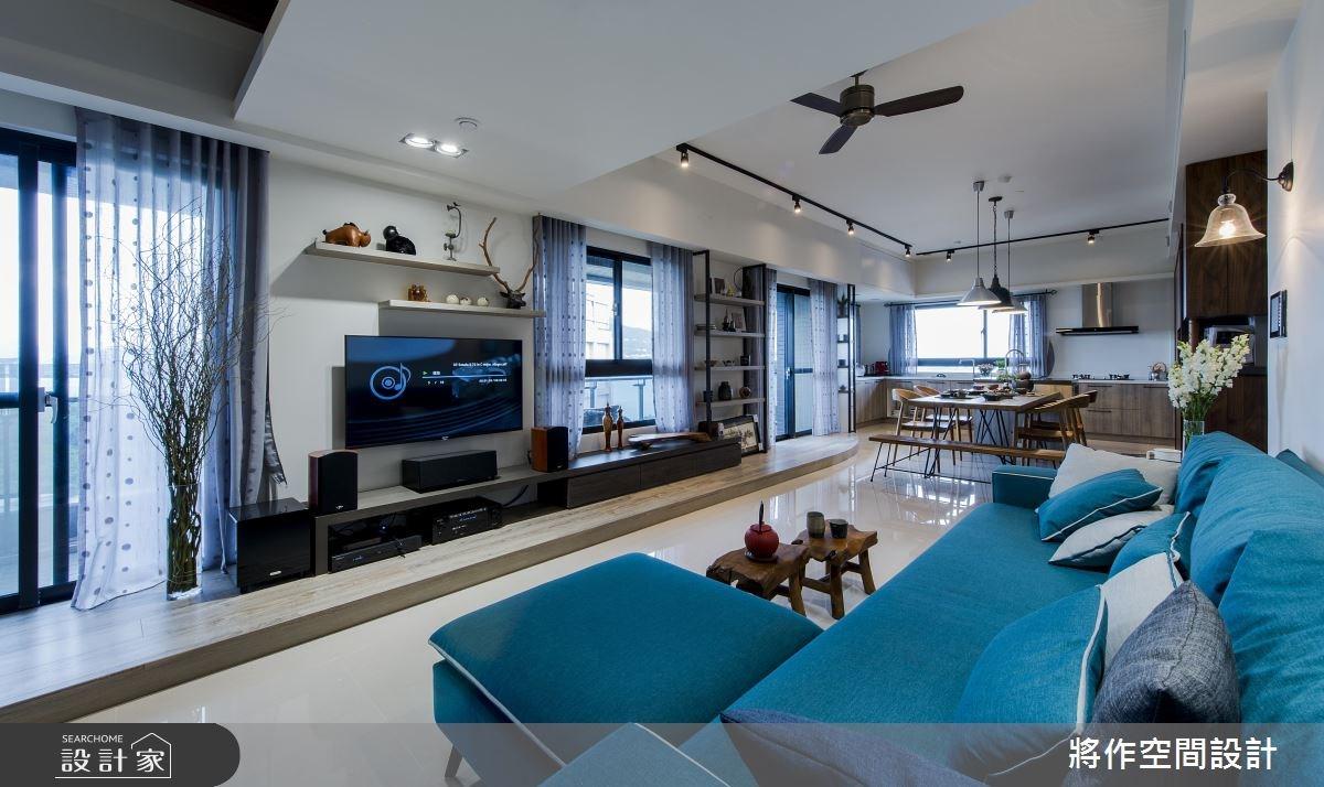 27坪新成屋(5年以下)_混搭風客廳案例圖片_將作空間設計工作室_將作_15之3