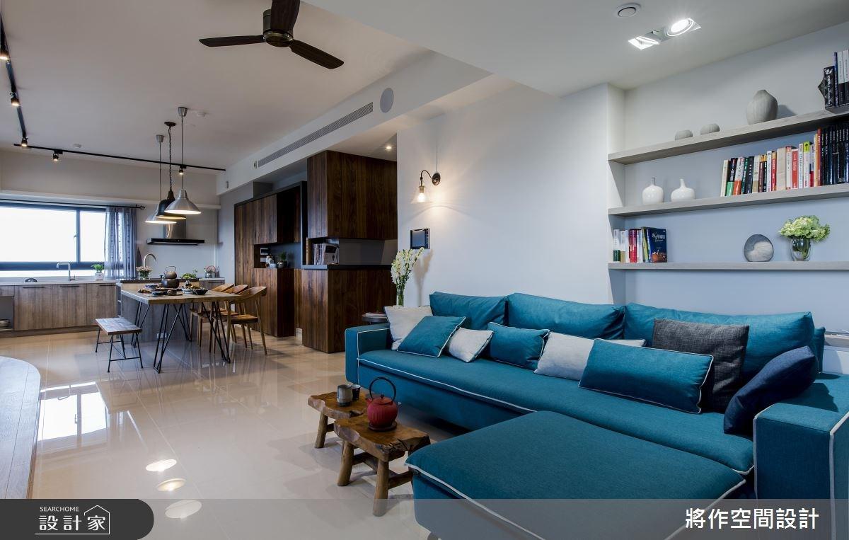 27坪新成屋(5年以下)_混搭風客廳餐廳案例圖片_將作空間設計工作室_將作_15之5