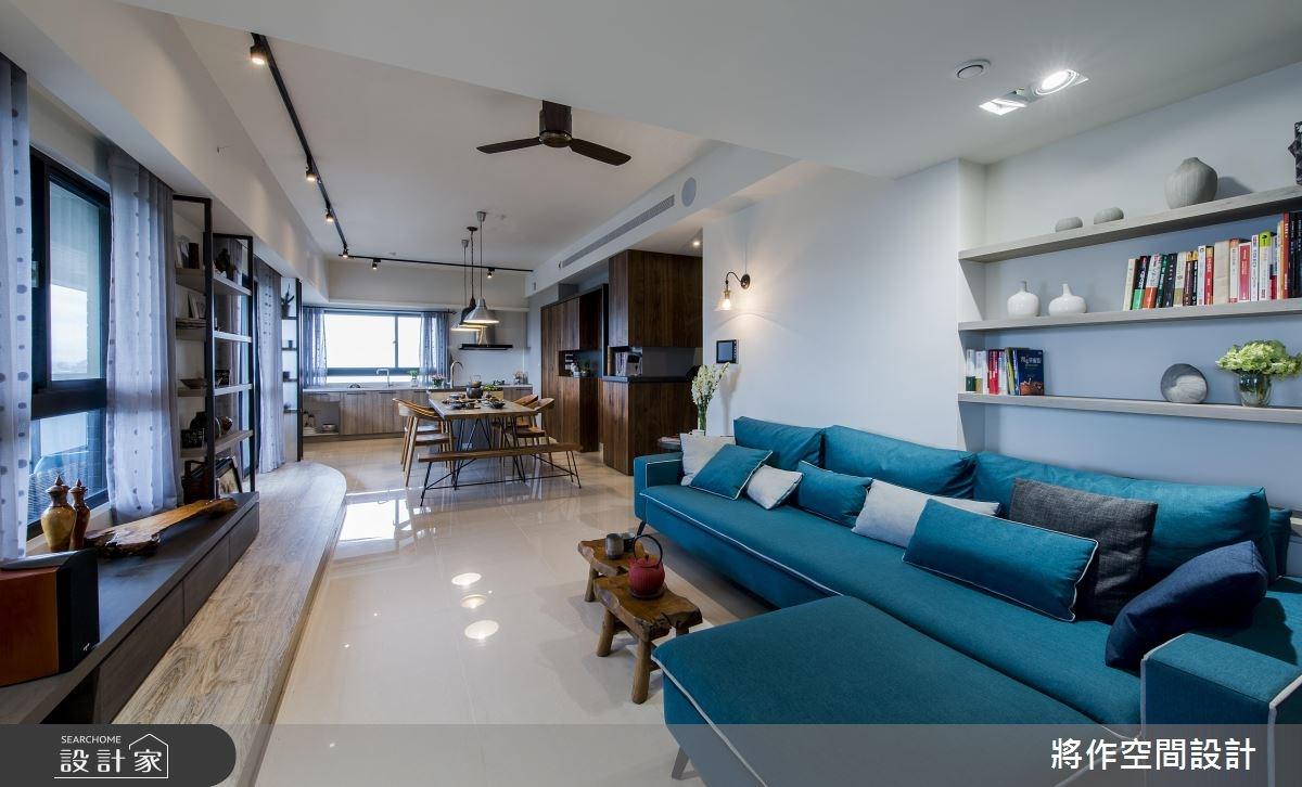 27坪新成屋(5年以下)_混搭風客廳餐廳案例圖片_將作空間設計工作室_將作_15之6