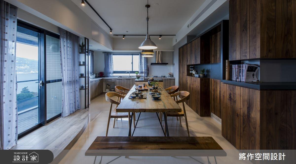 27坪新成屋(5年以下)_混搭風餐廳廚房案例圖片_將作空間設計工作室_將作_15之9