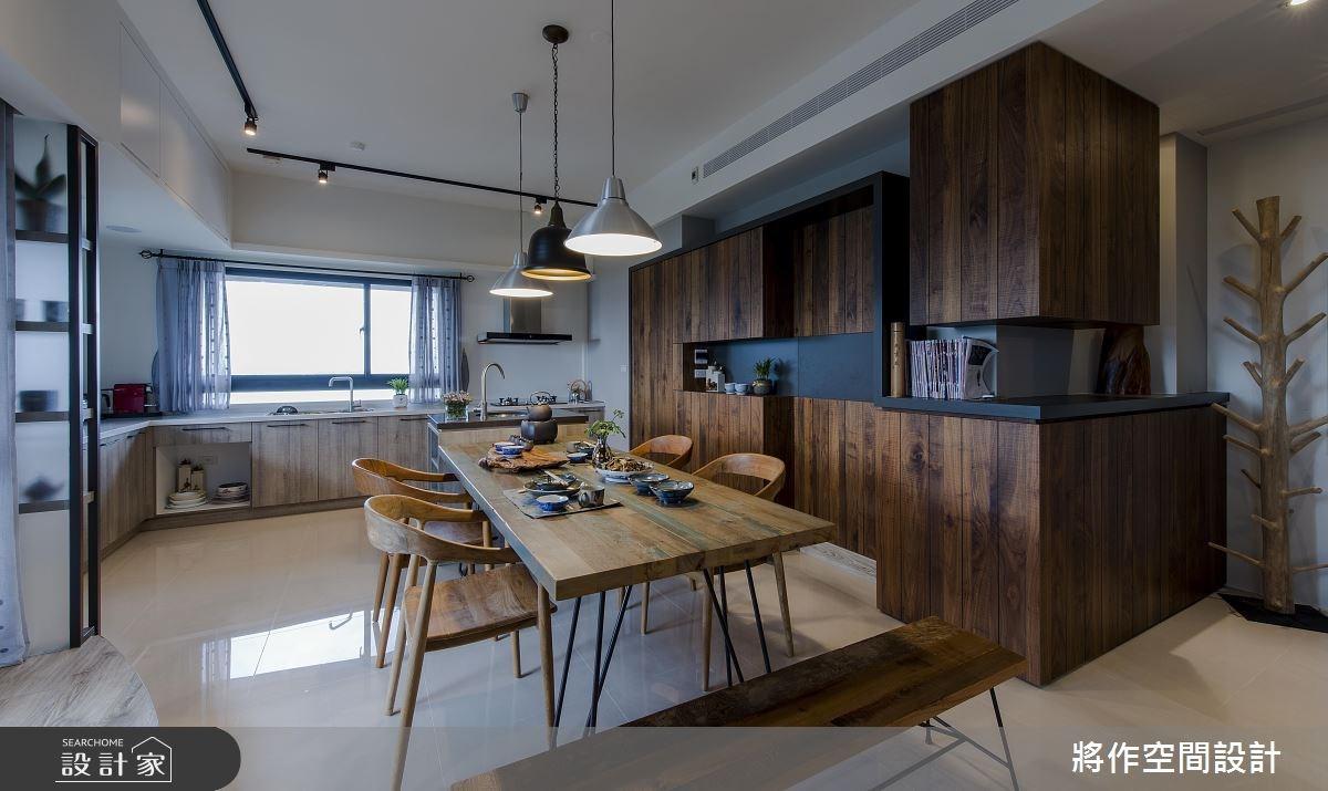 27坪新成屋(5年以下)_混搭風餐廳廚房案例圖片_將作空間設計工作室_將作_15之10