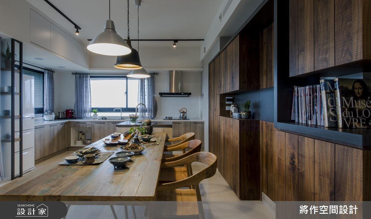 27坪新成屋(5年以下)_混搭風餐廳案例圖片_將作空間設計工作室_將作_15之11