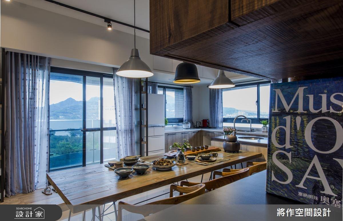 27坪新成屋(5年以下)_混搭風餐廳案例圖片_將作空間設計工作室_將作_15之12
