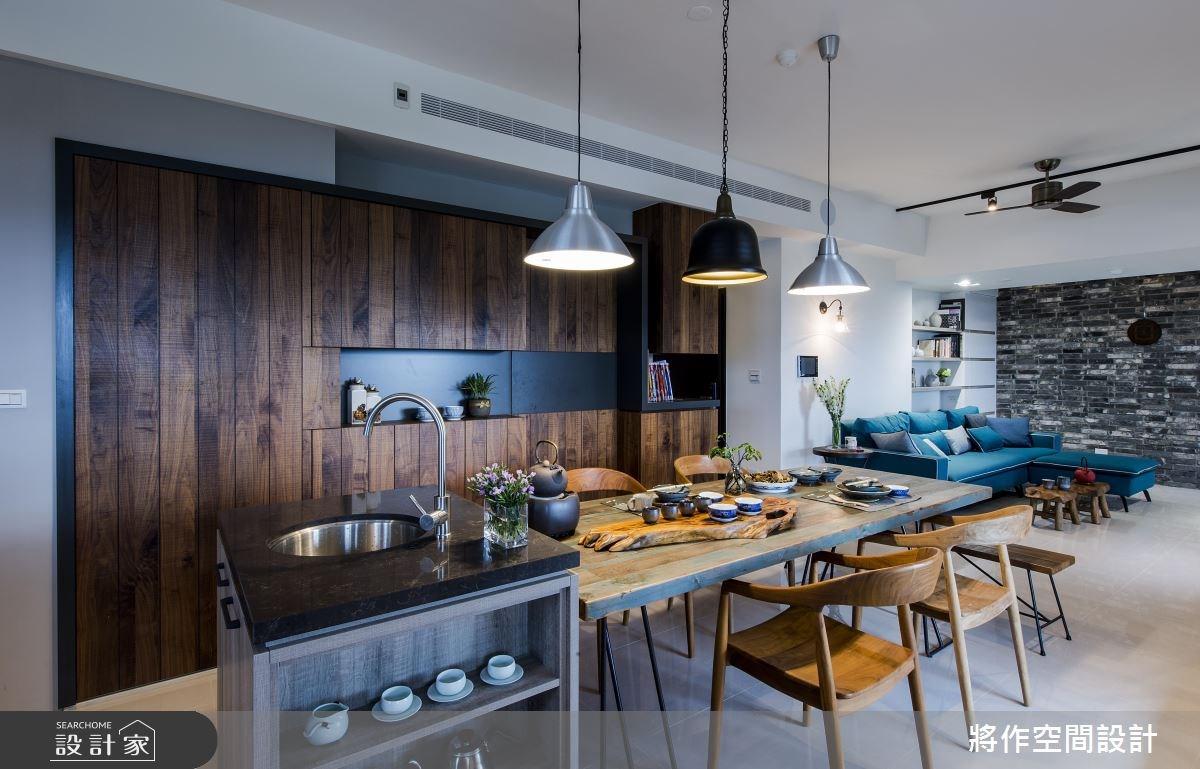 27坪新成屋(5年以下)_混搭風餐廳吧檯案例圖片_將作空間設計工作室_將作_15之13