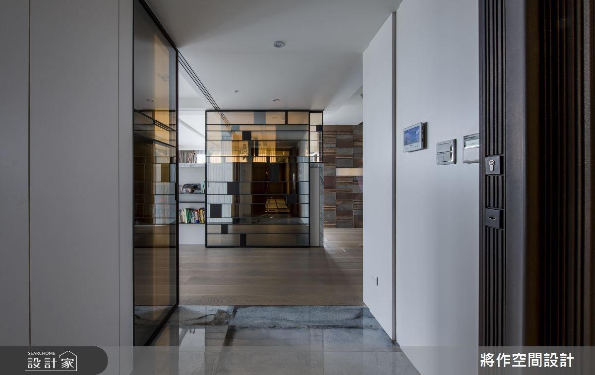 55坪新成屋(5年以下)_混搭風玄關案例圖片_將作空間設計工作室_將作_16之1