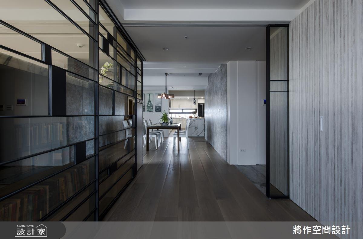 55坪新成屋(5年以下)_混搭風玄關餐廳案例圖片_將作空間設計工作室_將作_16之4