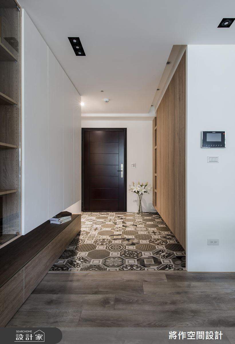 新成屋(5年以下)_現代風玄關案例圖片_將作空間設計工作室_將作_18之1