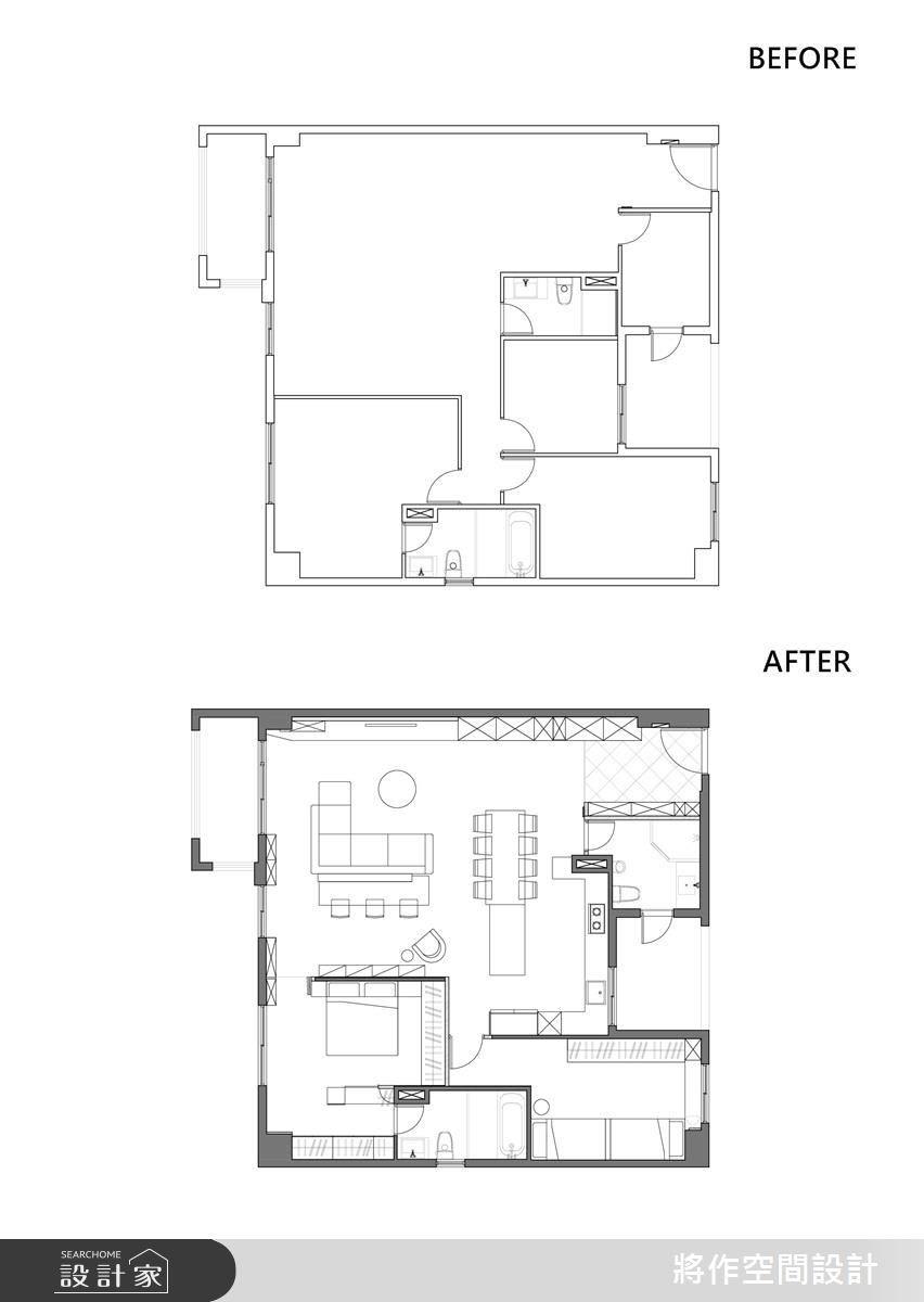 新成屋(5年以下)_現代風案例圖片_將作空間設計工作室_將作_18之21