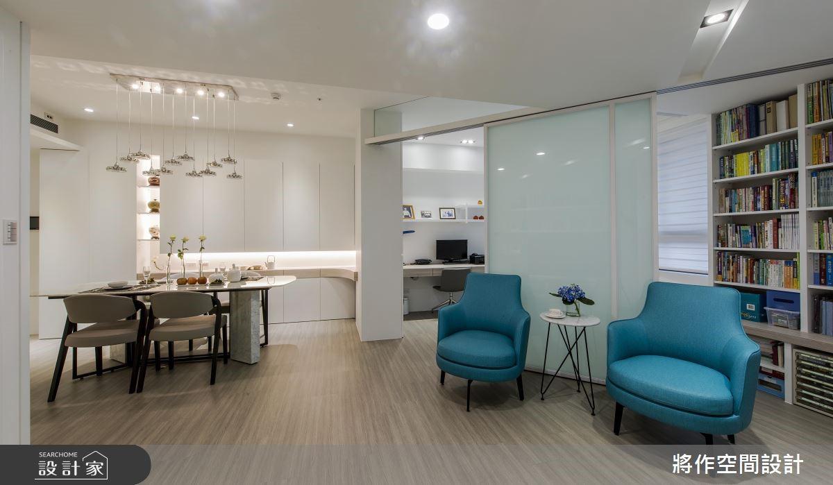 新成屋(5年以下)_混搭風客廳餐廳案例圖片_將作空間設計工作室_將作_19之9