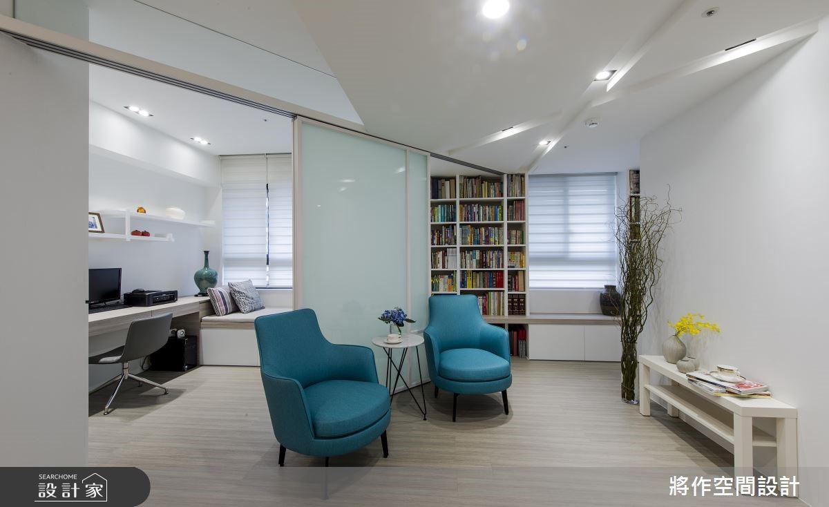 新成屋(5年以下)_混搭風客廳書房案例圖片_將作空間設計工作室_將作_19之10