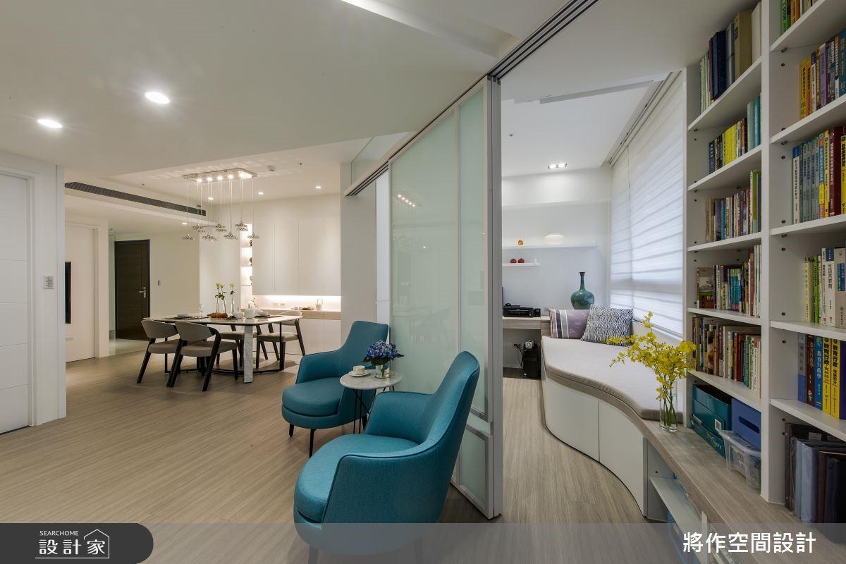 新成屋(5年以下)_混搭風客廳書房案例圖片_將作空間設計工作室_將作_19之8