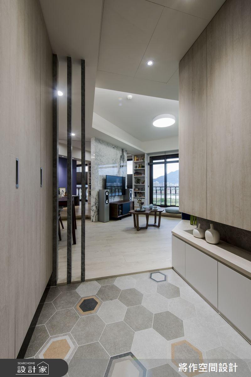 22坪新成屋(5年以下)_現代簡約風玄關案例圖片_將作空間設計工作室_將作_21之1