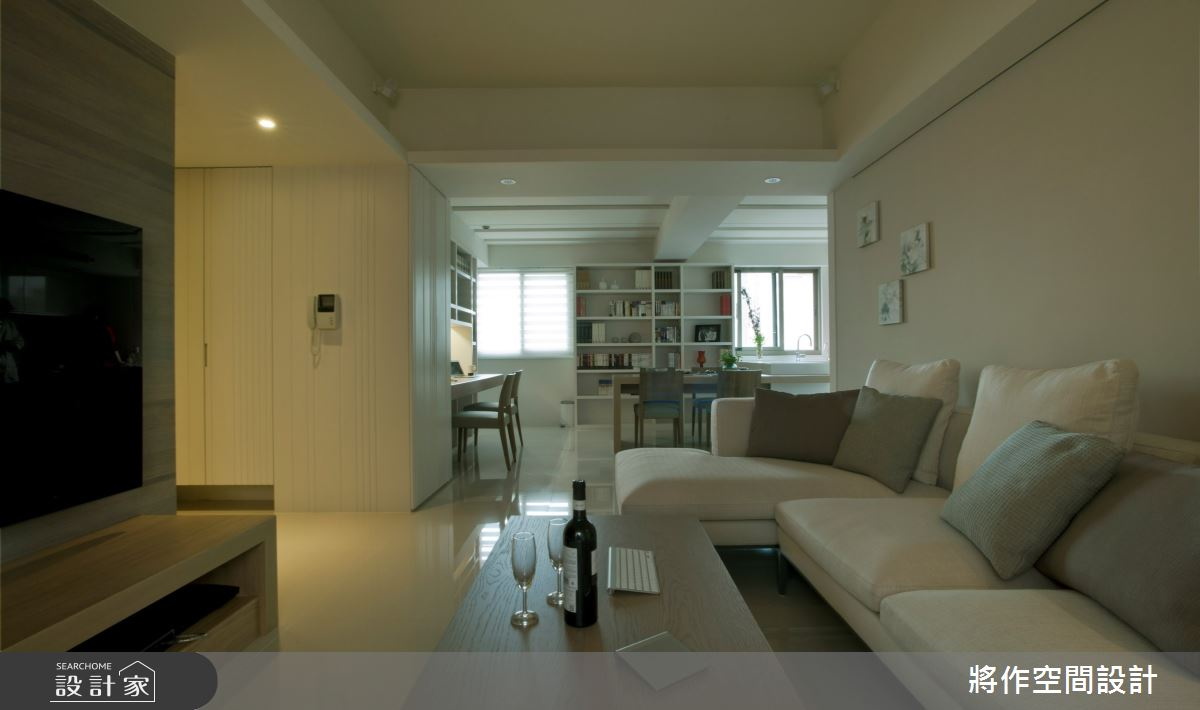27坪老屋(31~40年)_現代風客廳案例圖片_將作空間設計工作室_將作_22之4