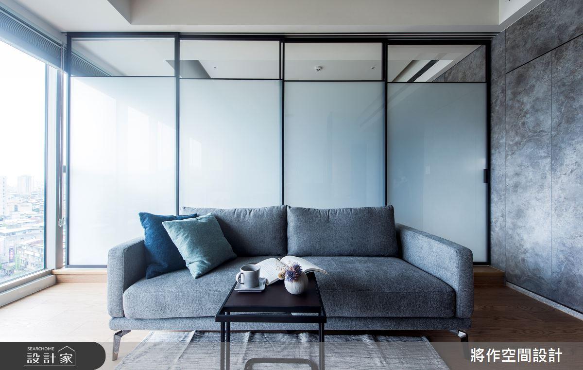 22坪新成屋(5年以下)_簡約風客廳案例圖片_將作空間設計工作室_將作_24之4