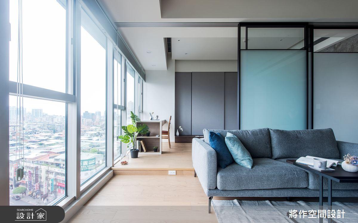 22坪新成屋(5年以下)_簡約風客廳案例圖片_將作空間設計工作室_將作_24之5