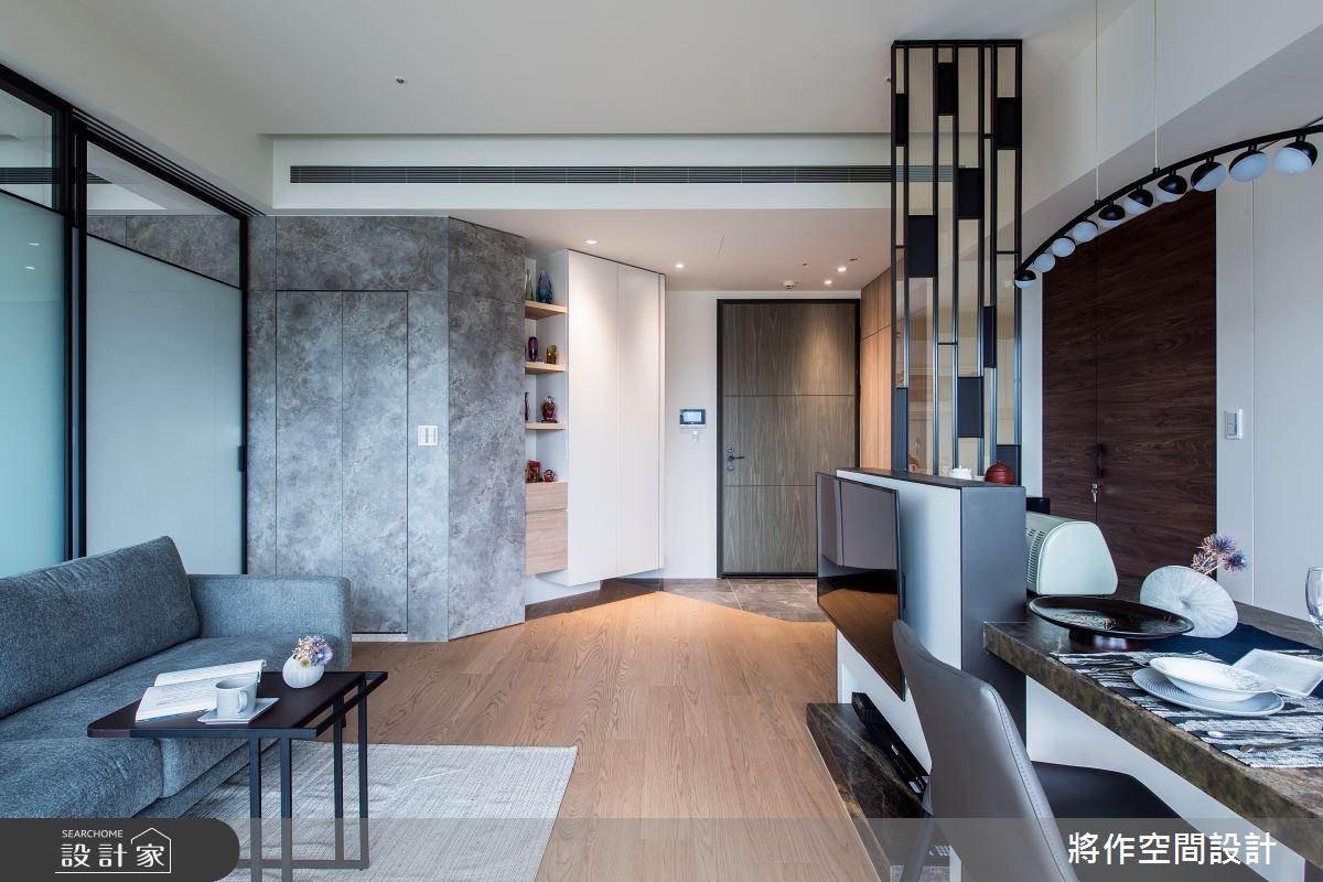 22坪新成屋(5年以下)_簡約風客廳案例圖片_將作空間設計工作室_將作_24之6