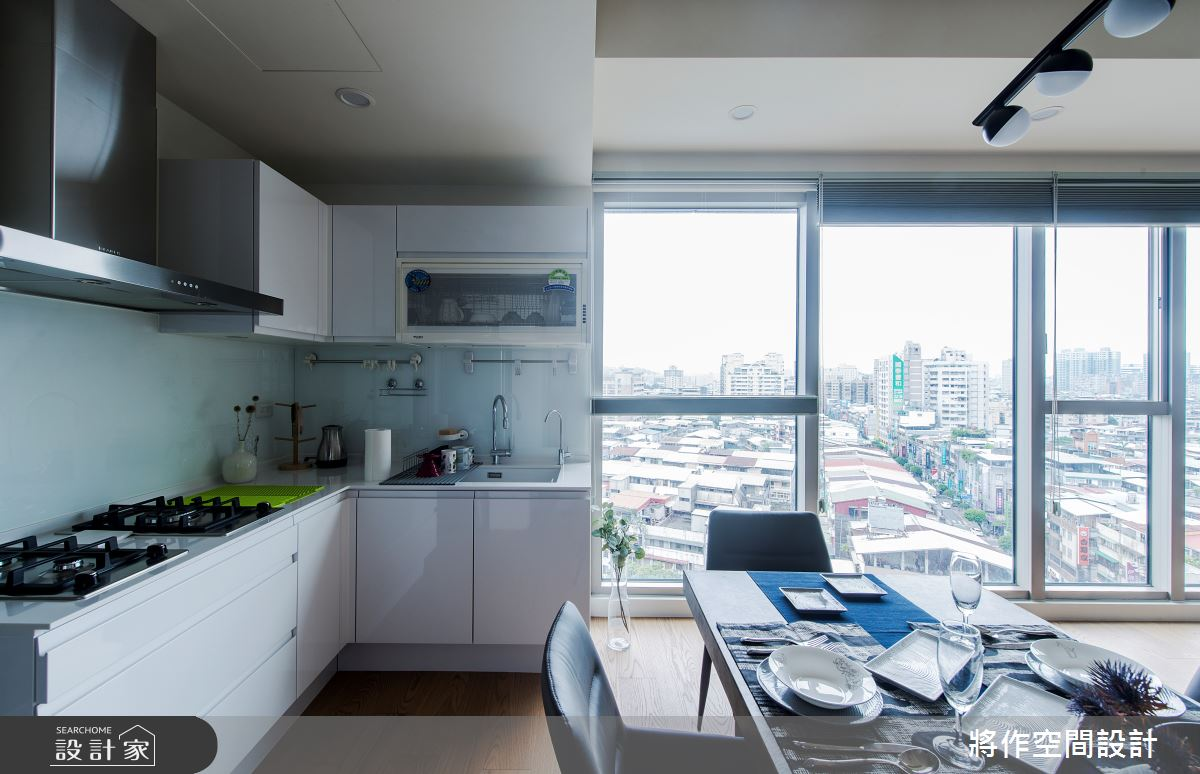 22坪新成屋(5年以下)_簡約風餐廳廚房案例圖片_將作空間設計工作室_將作_24之7