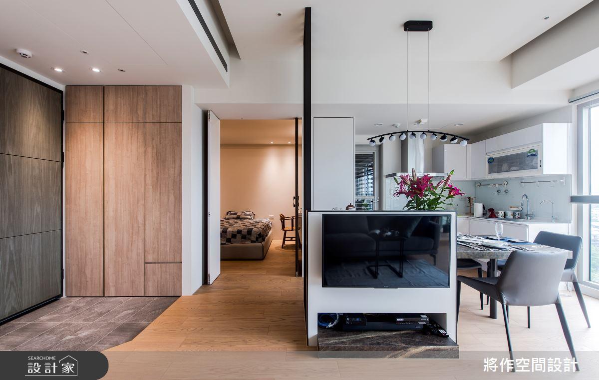 22坪新成屋(5年以下)_簡約風客廳餐廳案例圖片_將作空間設計工作室_將作_24之11