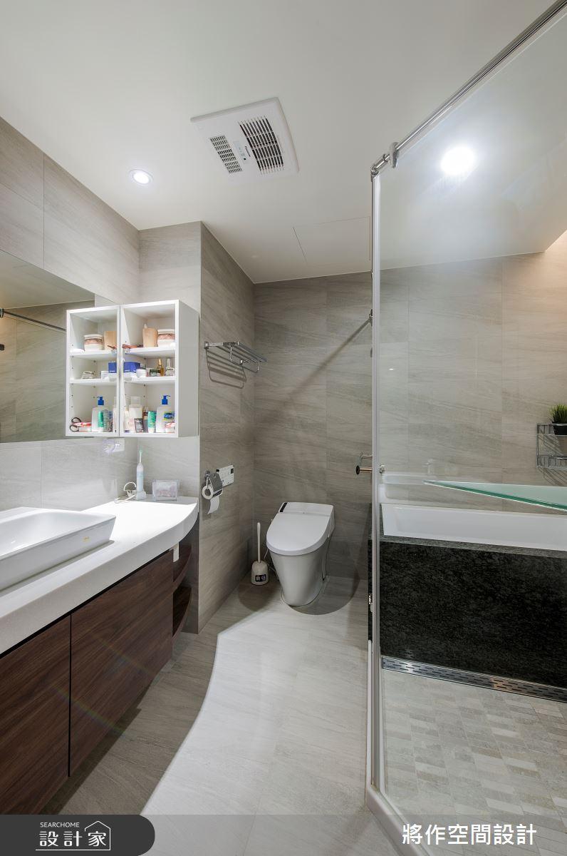 22坪新成屋(5年以下)_簡約風浴室案例圖片_將作空間設計工作室_將作_24之14