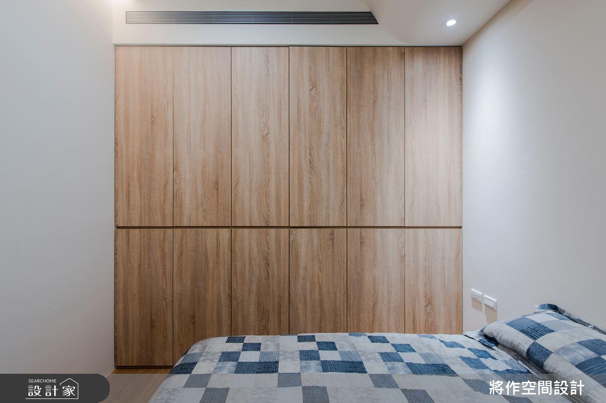 22坪新成屋(5年以下)_簡約風臥室案例圖片_將作空間設計工作室_將作_24之16