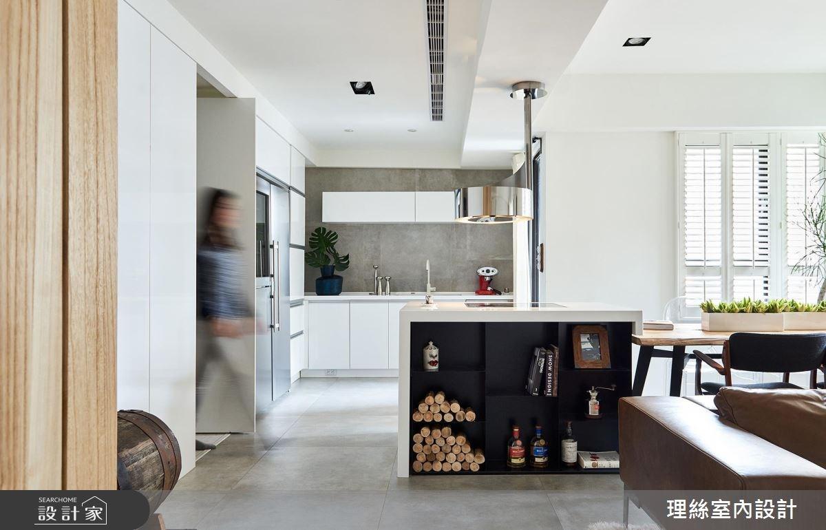 26坪老屋(16~30年)_北歐風廚房案例圖片_理絲室內設計有限公司_理絲_01之1
