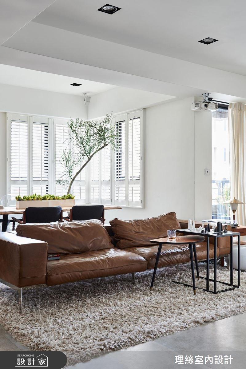 26坪老屋(16~30年)_北歐風客廳案例圖片_理絲室內設計有限公司_理絲_01之3