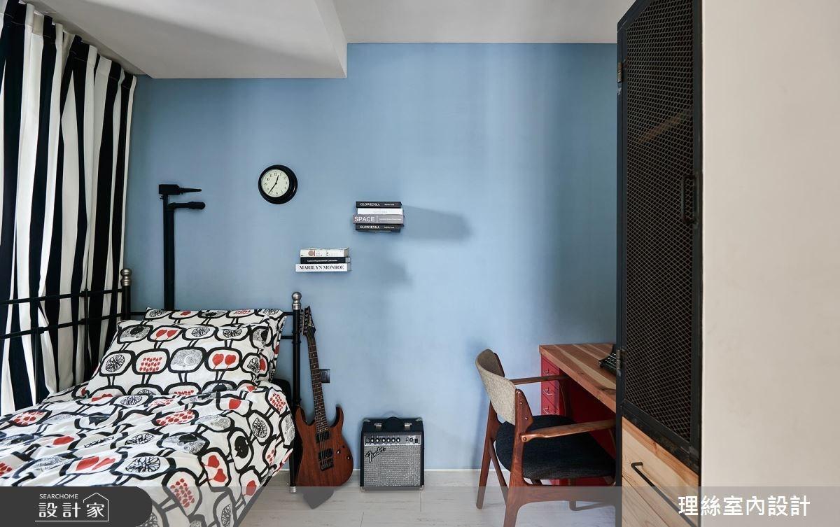 26坪老屋(16~30年)_北歐風臥室案例圖片_理絲室內設計有限公司_理絲_01之25