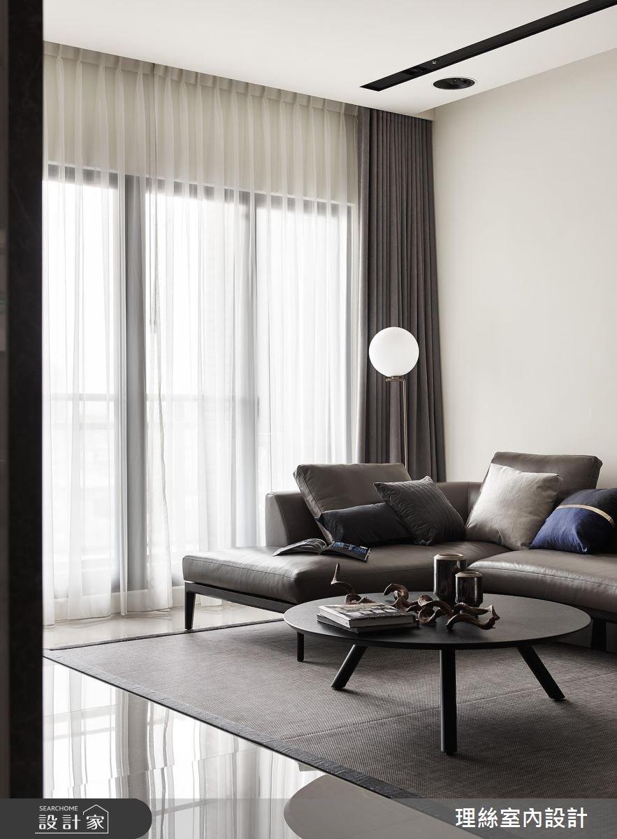 48坪新成屋(5年以下)_現代風客廳案例圖片_理絲室內設計有限公司_理絲_12之4